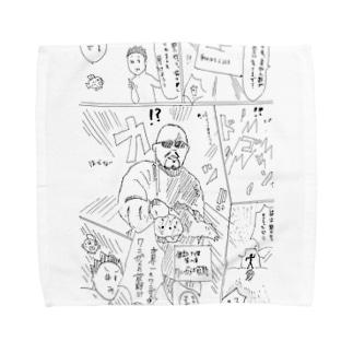萩野さん Towel handkerchiefs