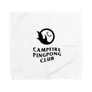 CAMPFIRE PINGPONG CLUB Towel handkerchiefs