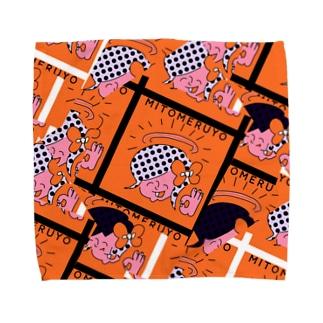MITOMERUYO pattern Towel handkerchiefs
