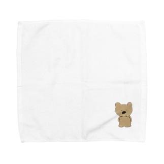 はなくまくん(ハナマルズ) Towel handkerchiefs