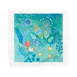 春の息吹 Towel handkerchiefs