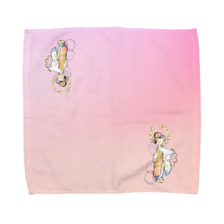 五花街の京舞妓 Towel handkerchiefs