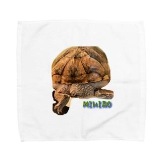 mitoのおしり Towel handkerchiefs