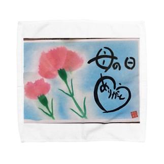 母の日に捧る Towel handkerchiefs