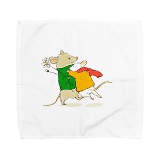 あえた Towel handkerchiefs