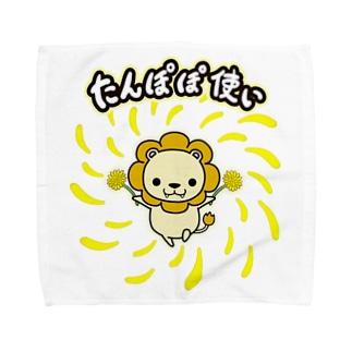 たんぽぽ使いが現れた! Towel handkerchiefs