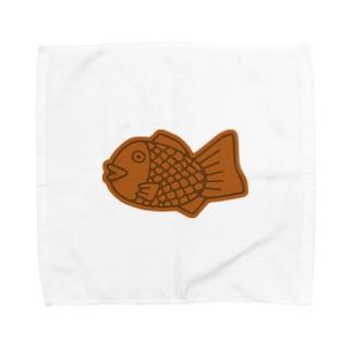 たい焼き Towel handkerchiefs