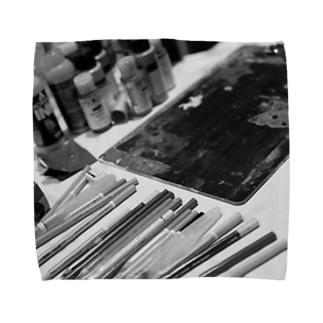 ライブペイント 画材 Towel handkerchiefs