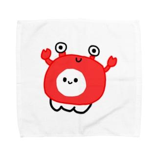 かにに Towel handkerchiefs