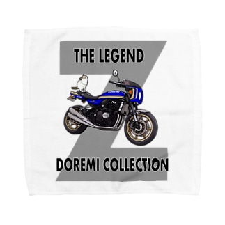 Doremi 900RS Blue Cat Towel handkerchiefs