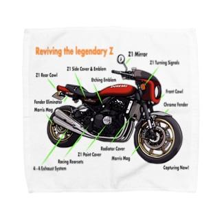 Doremi 900RS Red Parts List Towel handkerchiefs