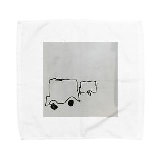 くるま Towel handkerchiefs