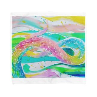 春のRyu Towel handkerchiefs