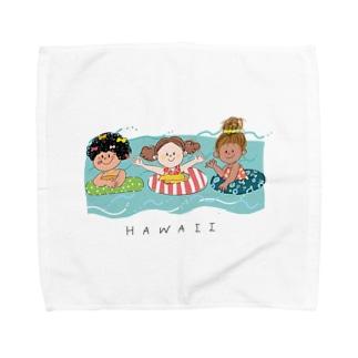 ハワイ Towel handkerchiefs