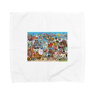 サンプル Towel handkerchiefs