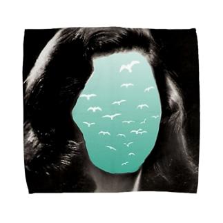 Seagull Face Towel handkerchiefs