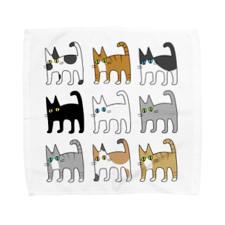 catcatcat's Towel handkerchiefs