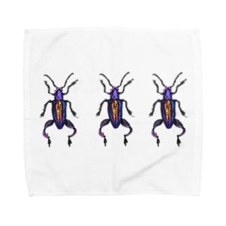 虫 Towel handkerchiefs
