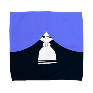 ながかみさん Towel handkerchiefs