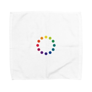Rainbow Makeup / レインボーメイクアップ Towel handkerchiefs