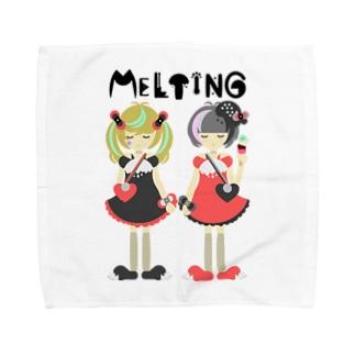 メルト姉妹  ゴシック&パンク Towel handkerchiefs