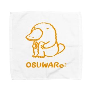 カモノハシくん Towel handkerchiefs