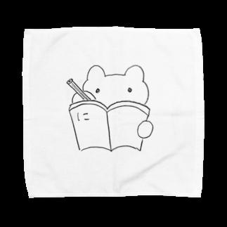 精霊くまうさの「に」日記 Towel handkerchiefs