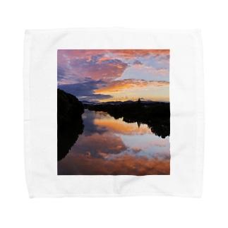 IRUMA_River TOYOMIZU Towel handkerchiefs