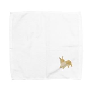 じ〜っ Towel handkerchiefs