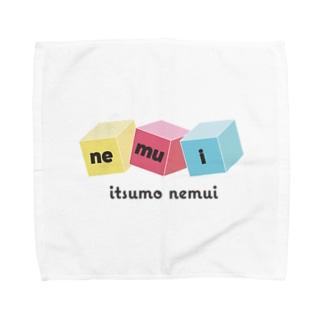 いつもねむたいあなたに贈る Towel handkerchiefs