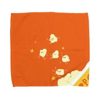 ポップコーーーン! Towel handkerchiefs