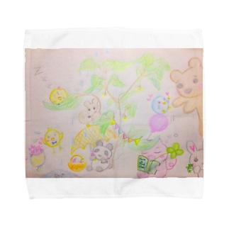 Inochi no ki (kyu-kyunzシリーズ) Towel handkerchiefs