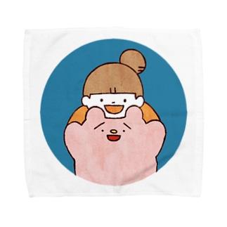 ゆめみとまるとも Towel handkerchiefs