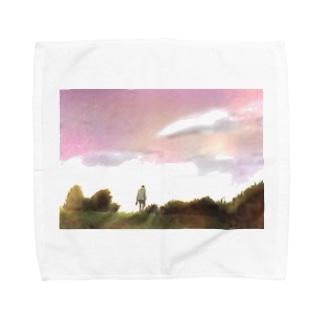 ぼくのはじっこ。 Towel handkerchiefs
