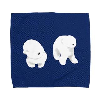 不思議なワンちゃん Towel handkerchiefs