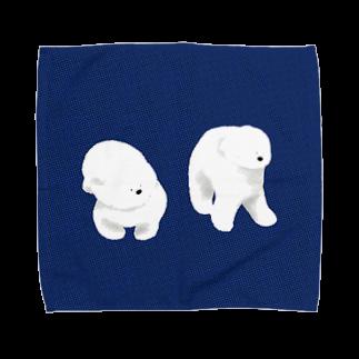 Iwabuchi Mamiの不思議なワンちゃん Towel handkerchiefs