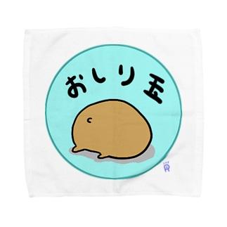 おしり玉 Towel handkerchiefs