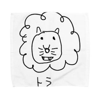 トラみたいなライオンみたいなトラ Towel handkerchiefs
