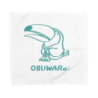 オニオオハシさん Towel handkerchiefs