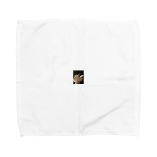 愛しの文鳥Tシャツ Towel handkerchiefs
