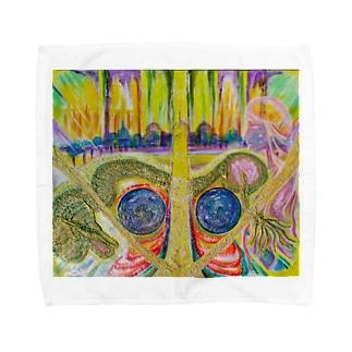 光と祈り Towel handkerchiefs