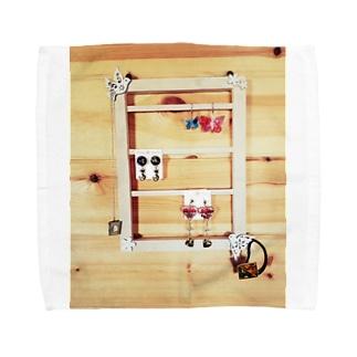 アクセサリーホルダー Towel handkerchiefs