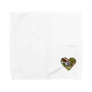 フラワーbee Towel handkerchiefs