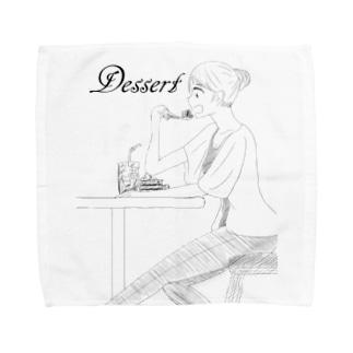 デザート Towel handkerchiefs