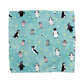星ステッキとペンギン Towel handkerchiefs