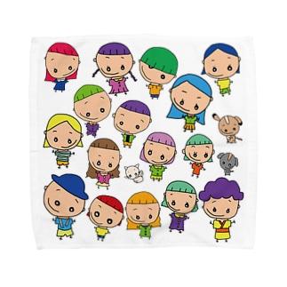 傘寿ミニタオルL Towel handkerchiefs