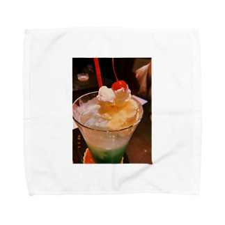 クリームソーダ Towel handkerchiefs
