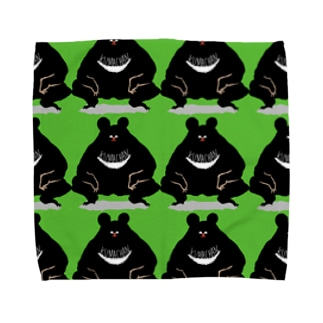くまちゃんず Towel handkerchiefs
