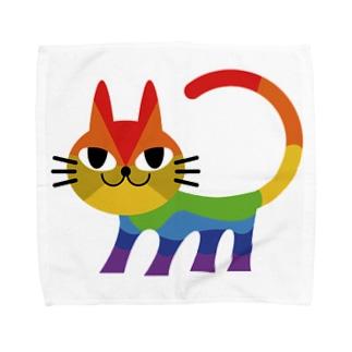 nijineko#2 Towel handkerchiefs