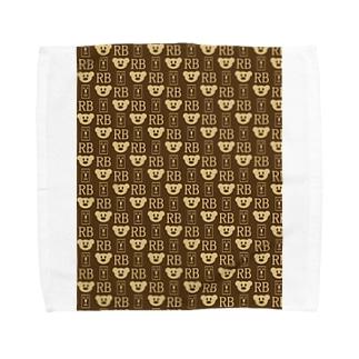 楽だべあ Towel handkerchiefs